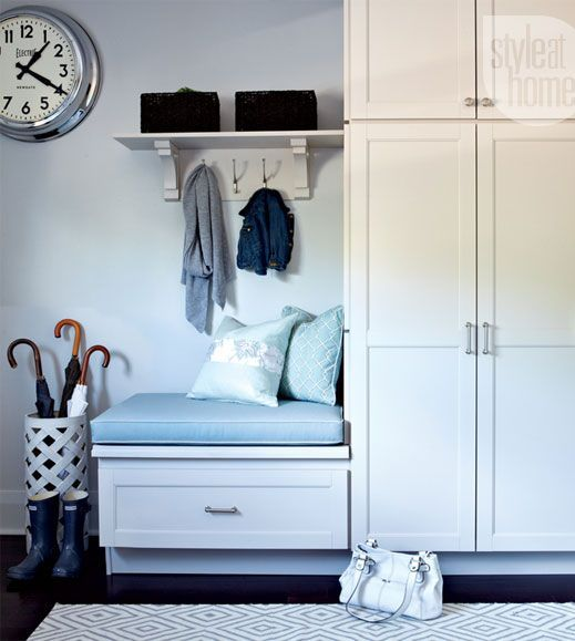 tall mudroom cainets for storage