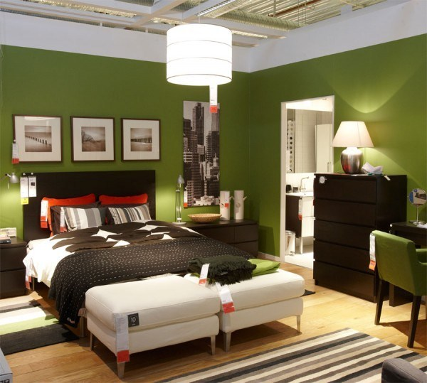Green shades to paint walls (3)