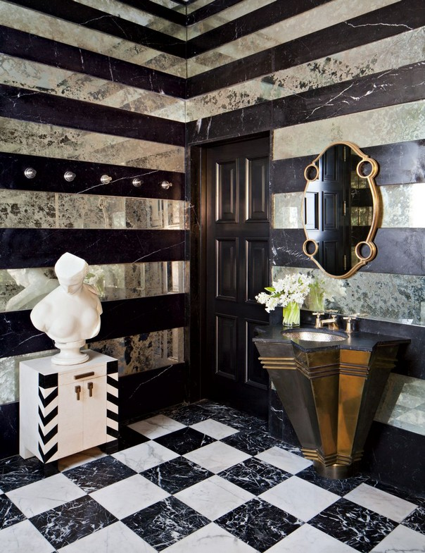 How to Style your Bathroom like Kelly Wearstler Style your Bathroom like Kelly Wearstler How to Style your Bathroom like Kelly Wearstler Room Decor Ideas How to Style your Bathroom like Kelly Wearstler Kelly Wearstler Interiors Luxury Interior Design 15