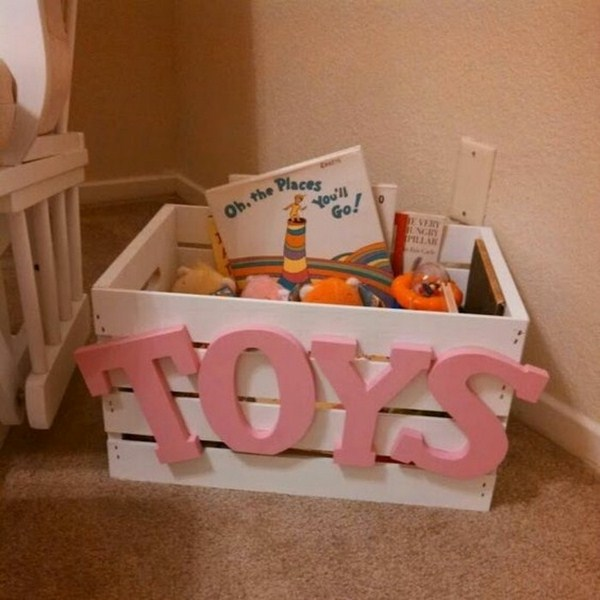 Storage boxes for toys Winnie the Pooh
