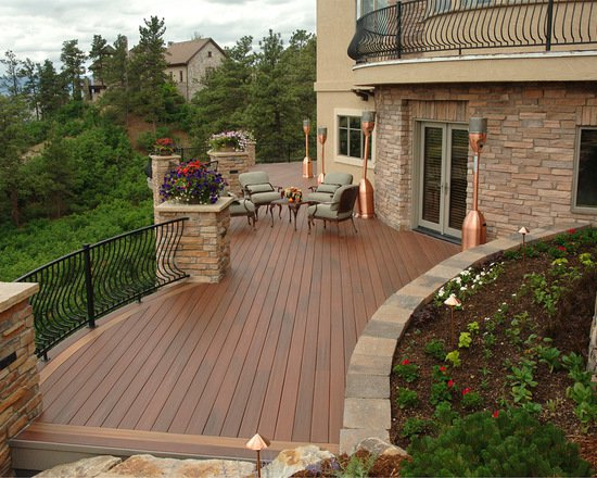 17 Stunning Mountain House Deck and Patio Design Ideas (Part 1)