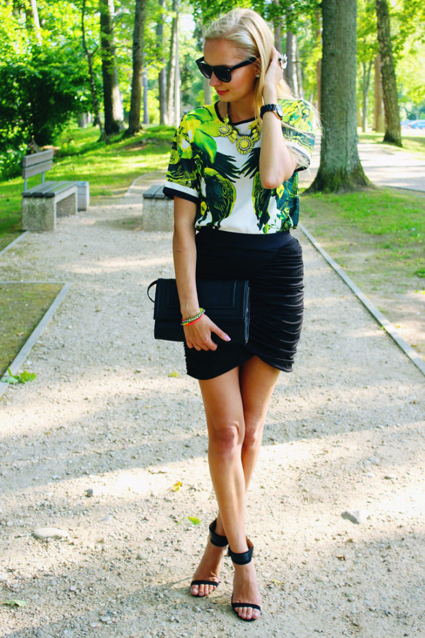 20 Stylish Ways to Wear Tropical Prints This Summer
