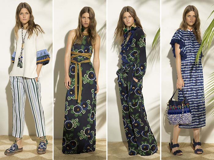 Tory Burch Resort 2017 collection