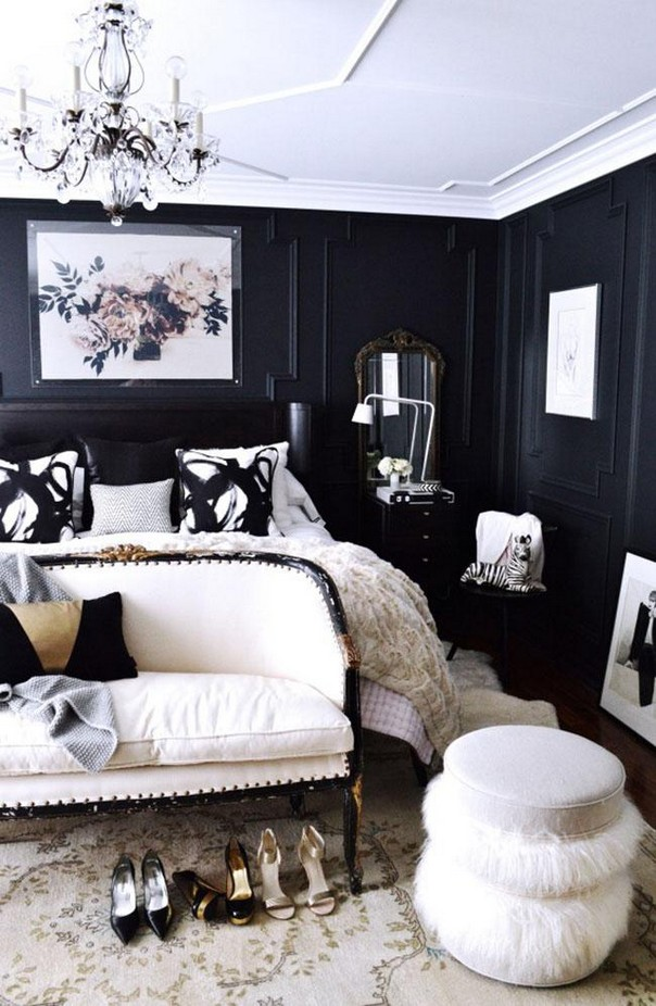 Trendy color schemes for master bedroom decor10 blog for Black decorated rooms