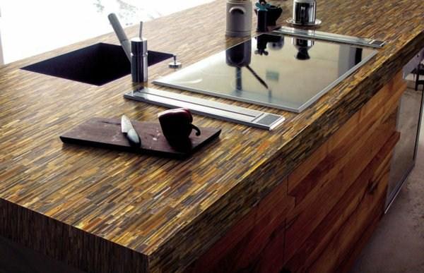 Quartz worktop for the kitchen
