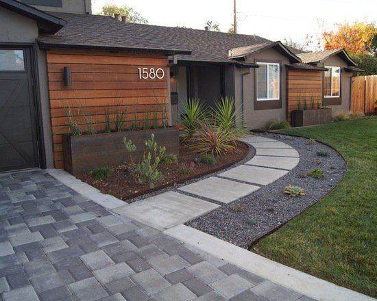 18 Great Front Walkway Home Design Ideas