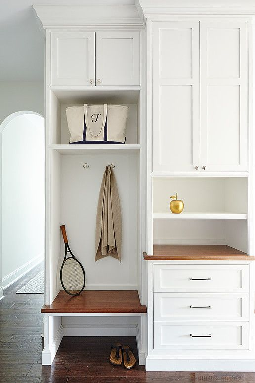 tall mudroom cabinets