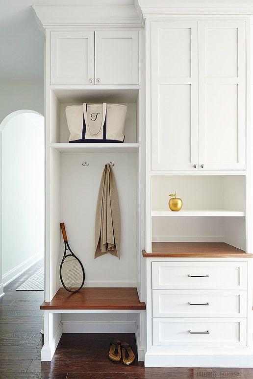tall mudroom cabinets