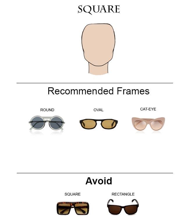 Glass Frames for Square Face Shape