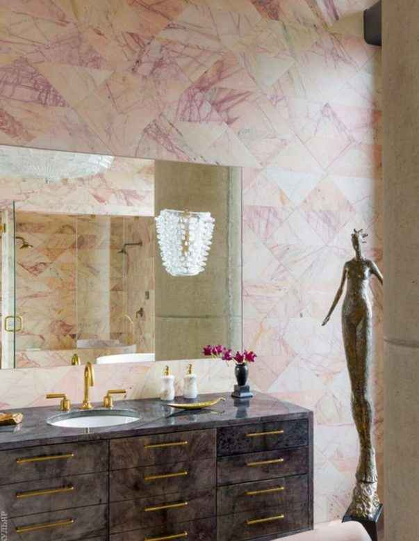 How to Style your Bathroom like Kelly Wearstler Style your Bathroom like Kelly Wearstler How to Style your Bathroom like Kelly Wearstler Room Decor Ideas How to Style your Bathroom like Kelly Wearstler Kelly Wearstler Interiors Luxury Interior Design 14 e1467301980732