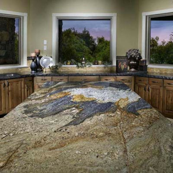 unique artwork plate of natural stone for kitchen 1