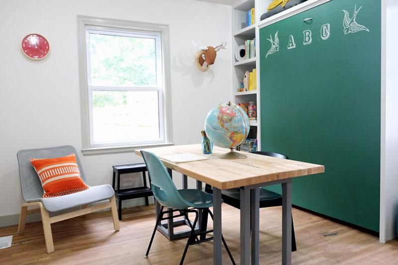 Creative Bedrooms with Chalkboards-DESIGNRULZ (22)