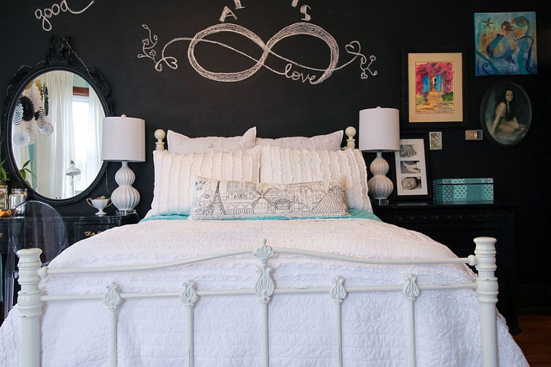 Creative Bedrooms with Chalkboards-DESIGNRULZ (24)