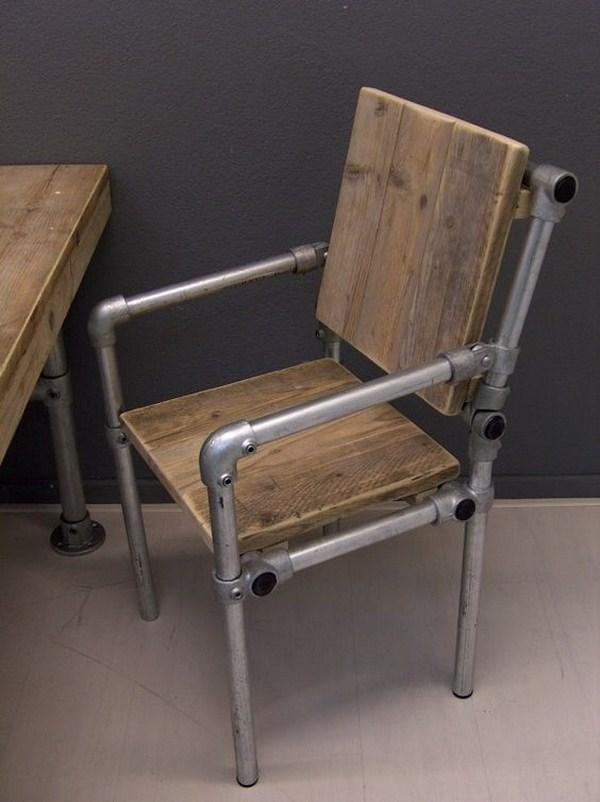 chair industrial look