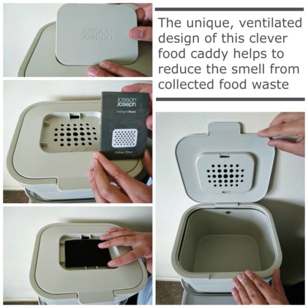 Joseph Joseph Stack Recycling Food Caddy