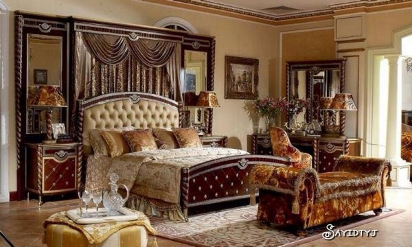 luxury-classic-furniture-design-bedroom-decorating-ideas
