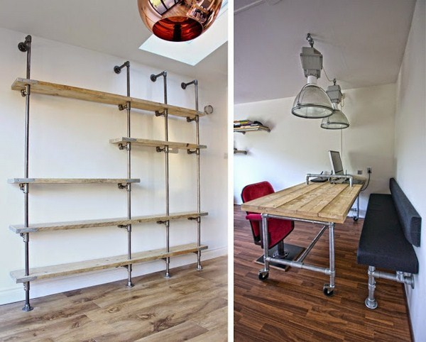 build shelving system itself