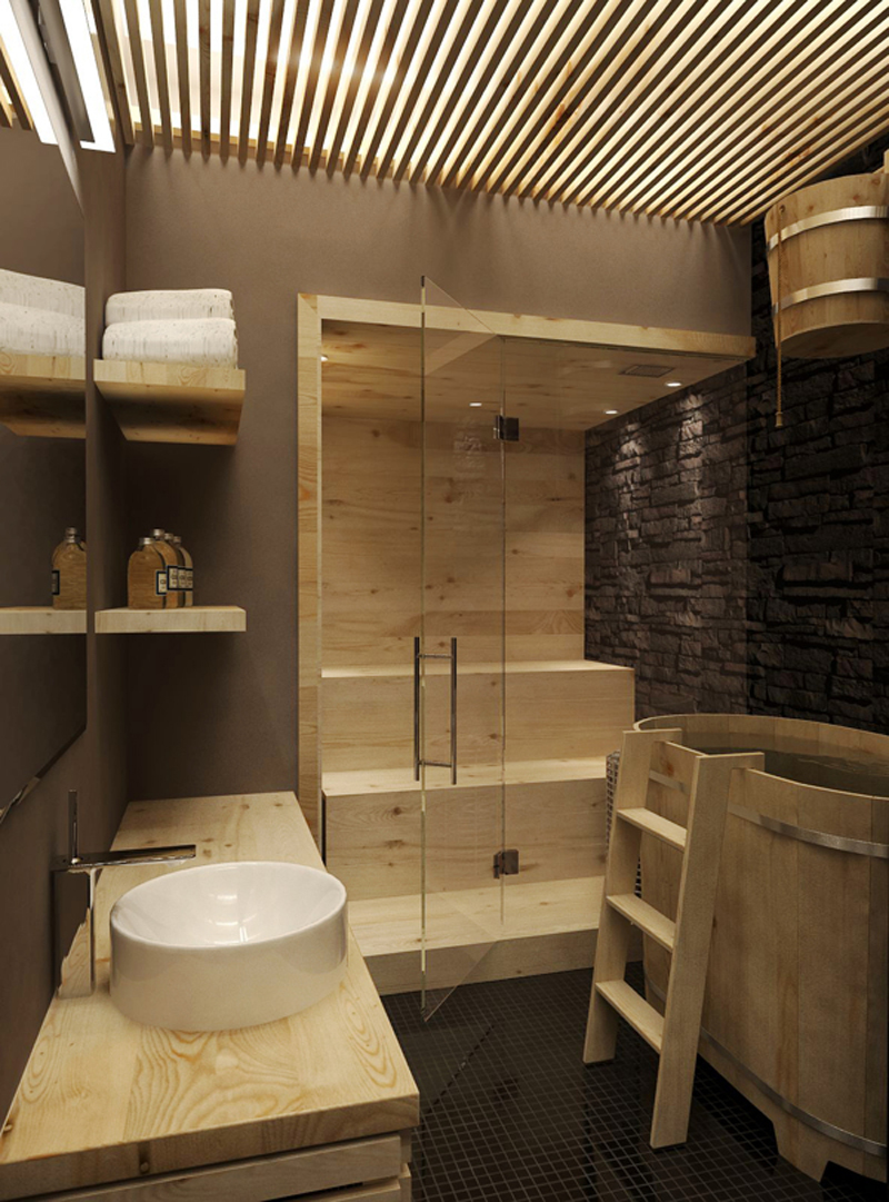 35 Magnificent Sauna Styles for Your Home - Decor10 Blog