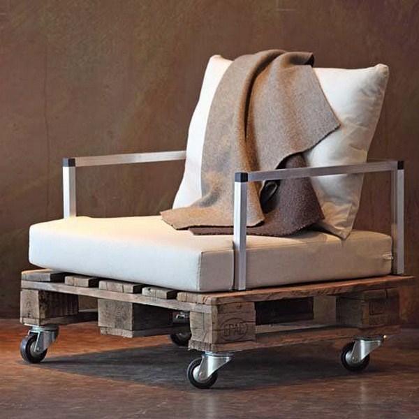armchair industrial style