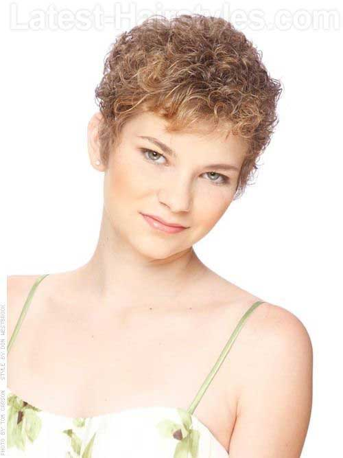 Very Short Curly Hairstyles-16