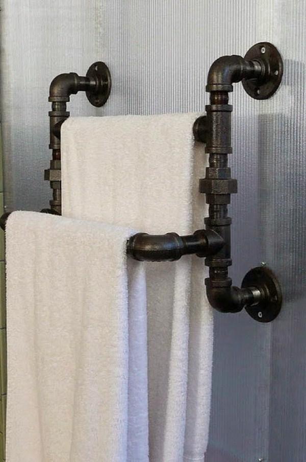 build towel rack itself