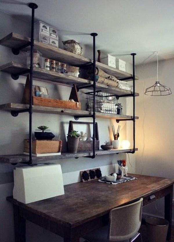 build wood shelf itself