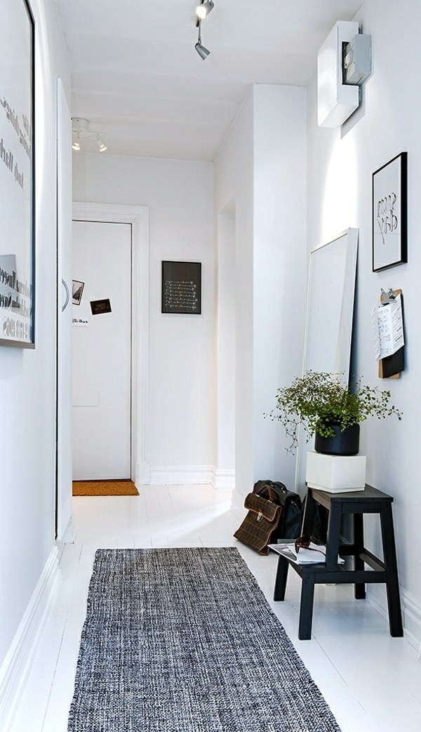 rooms and university ideas white corridor with a gray carpet