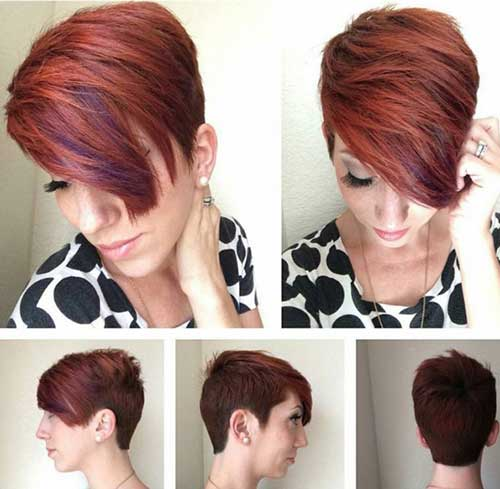 Layered Short Haircuts-8