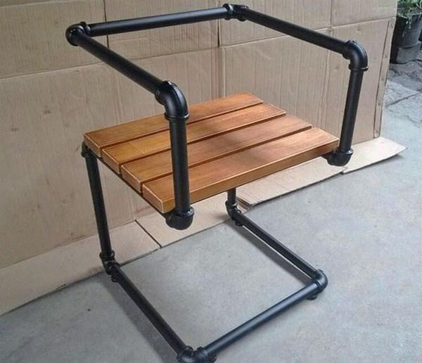 design chair industrial look