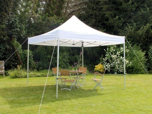 under which entertain garden tents with friends
