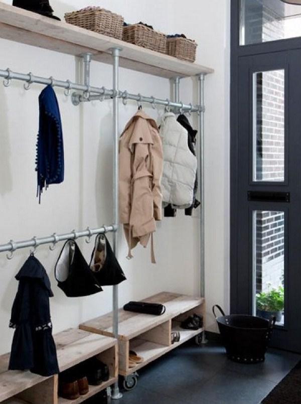 industrial look wardrobe