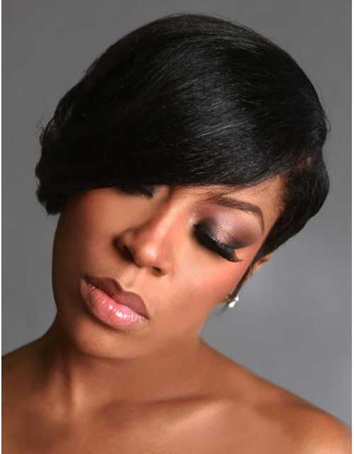 Short Natural Black Hair Color