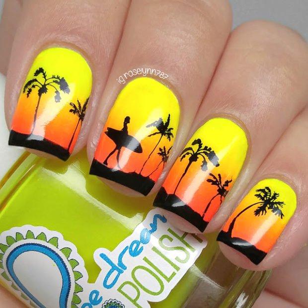 Summer, Beach, Sea: 15 Cute Nail Art Inspirations
