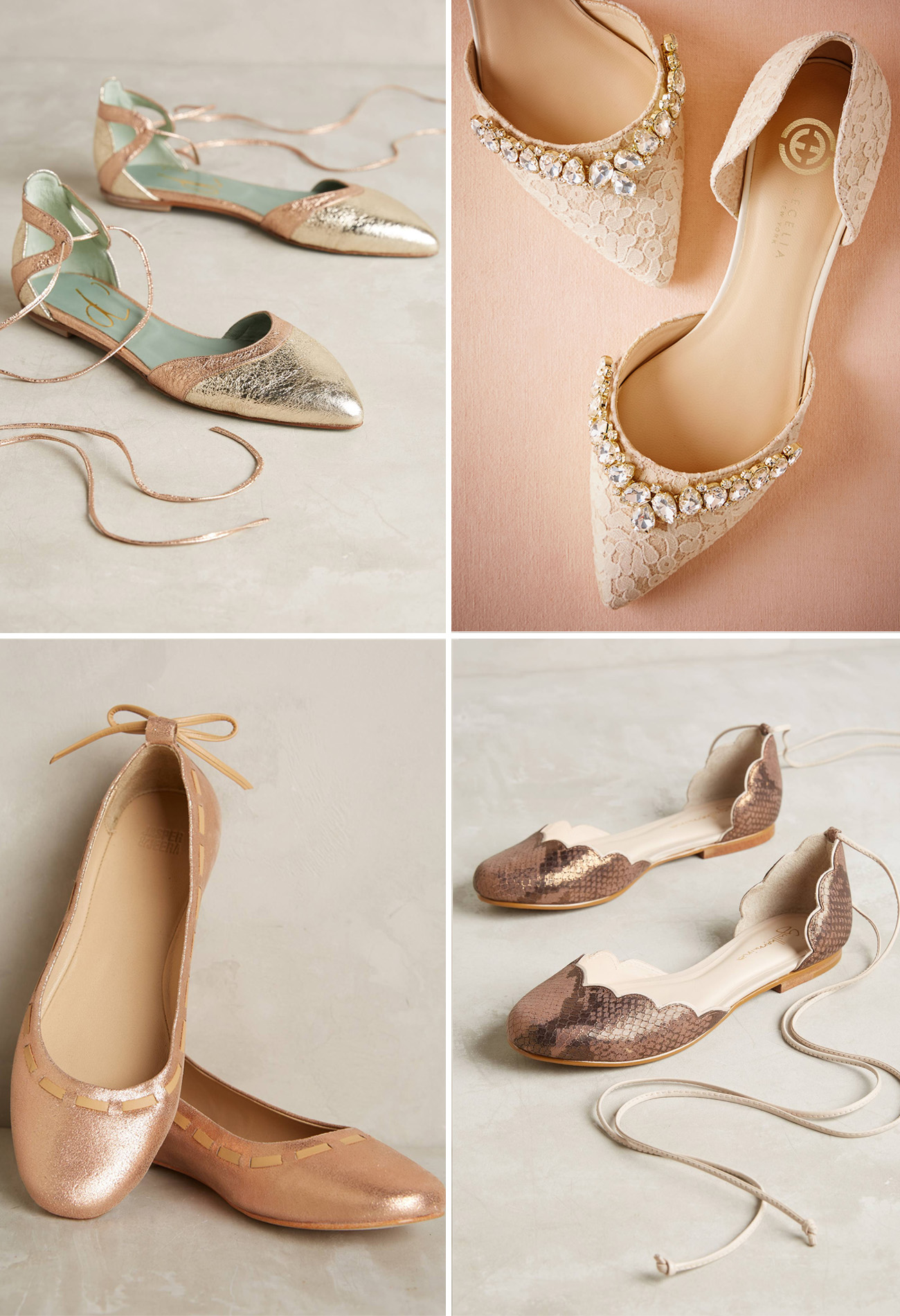 Our Favorite Flats for Your Wedding