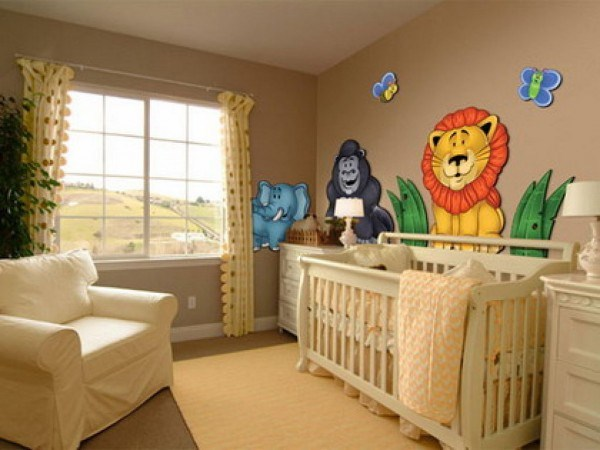 lilac baby room