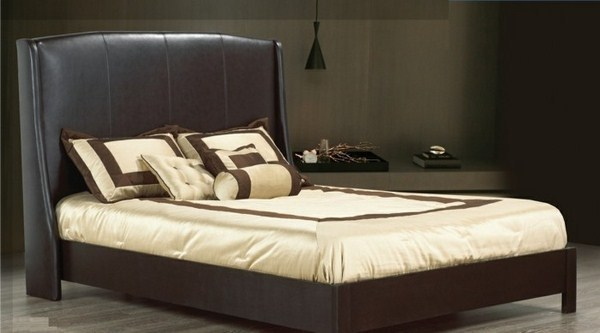 beautiful model bed with storage space elegant design