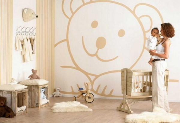 decorate the baby's room
