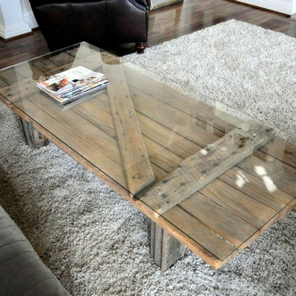 Coffee table build your own rustic with deco