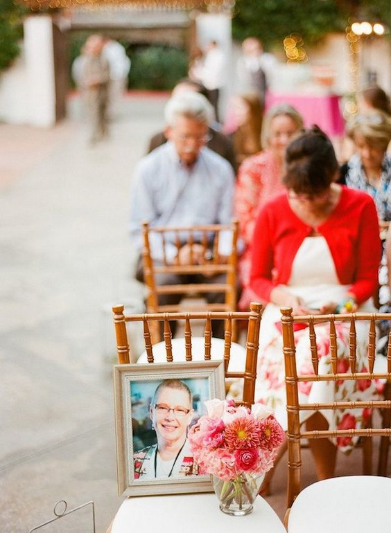 Memory Chair Wedding Idea