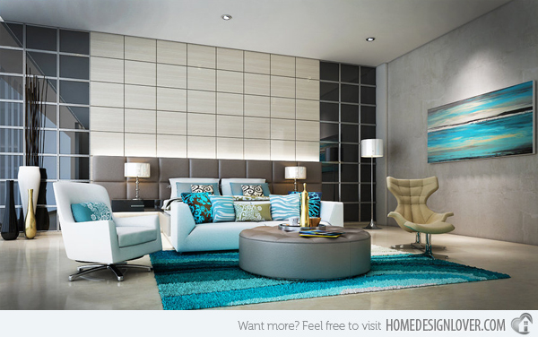 15 Scrumptious Turquoise Living Room Ideas Decor10 Blog