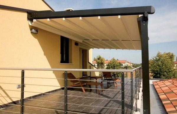 Canopy glass aluminium