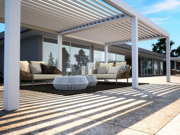 Detached sunscreen roof of awning ideas