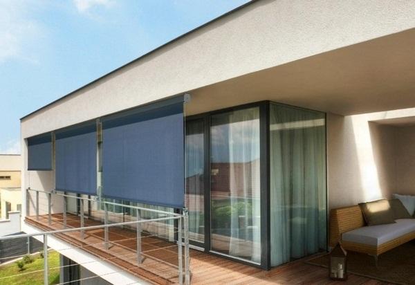 Modern Sunprotechtion roof of blinds ideas