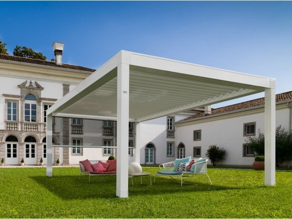Sunscreen Pergola terrace covering modern manufactured wood