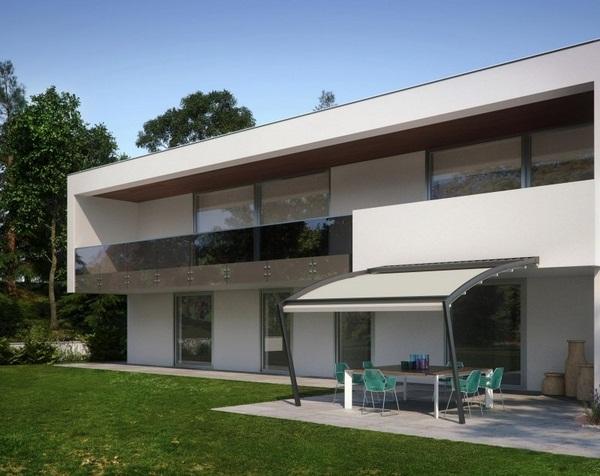 Sunscreen roof aluminium Stoffhaus ideas