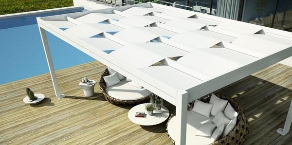 Sunscreen roof fabric white Weavetendaservice