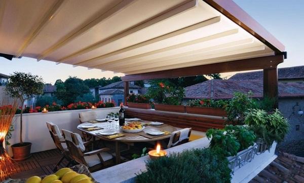 Sunscreen roof ideas modern wood