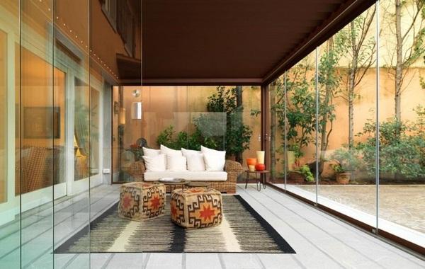 Sunscreen roof of glazing ideas