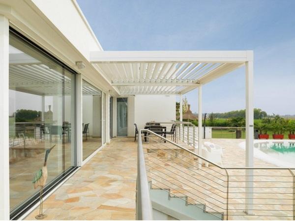 Sunscreen roof terracotta tiles ideas