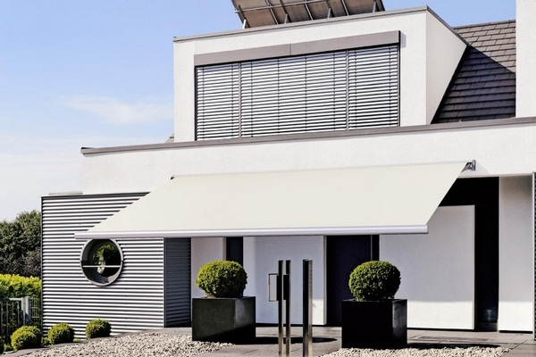 Sunshade awning patio roof high large Flowerpot